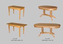 Столы из массива (под заказ)