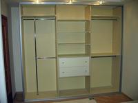 Примеры наполнения шкафа-купе внутри
