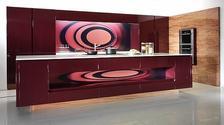 Кухни с панорамными стеновыми панелями