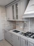 кухня их МДФ-ПВХ с патиной Париж-5 (ул.Советская, д.107)