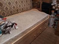 Кровать Дейбед-2, МД-268 + матрац Элит 531 (Беларусь)