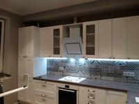 кухня с фасадами МДФ-ПВХ Эйвон - Ясень молочный (ул.2-ая Московская, д.6)