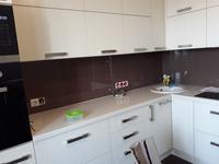 кухня с фасадом из шпона ясеня Т220/110 (ул.Центральная, д.142)