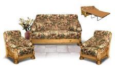 """Набор мягкой мебели """"Цезарь"""" (сосна с эффектом старения)"""