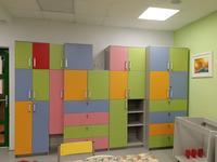 Детский шкаф по собственным размерам