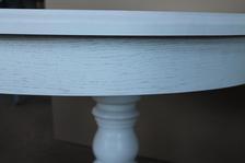 Беленый стол Дуб
